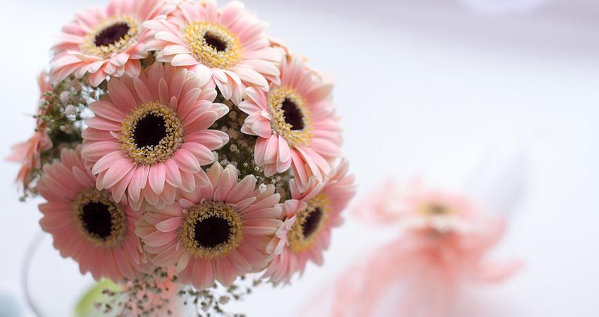 Pour décorer une table de cérémonie, la présence de fleurs est indispensable.