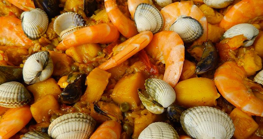 La paella aux fruits de mer, le must de la cuisine espagnole