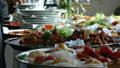 décorer un buffet pour les fêtes